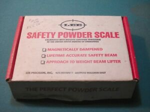 Lee Safety Powder Scale. FREE SHIPPING IN USA