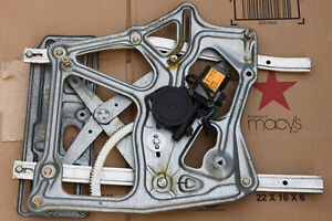 Bmw E30 Convertible Right Rear Window Regulator Lifter And Electric Motor