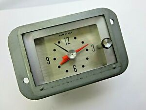 Nos 1964 Ford Galaxie Dash Clock Oem New Old Stock Xl 500 Sunliner Etc