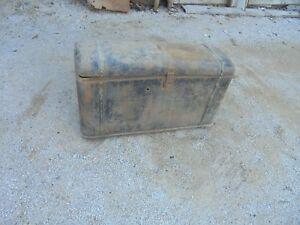 1932 1933 1934 1931 1930 Pontiac Buick Chevrolet Ford Dodge Steel Trunk Potter