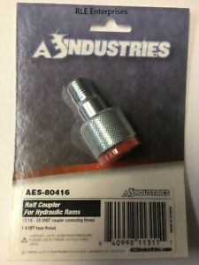 80416 Aes Industries Replacement 1 2 Moon Coupler For 4 10 Ton Porta Power
