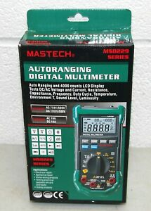 New Mastech ms8229 Auto range 5 in 1 Multi functional Digital Multimeter