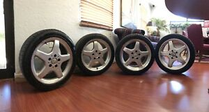 Mercedes Benz 17 Amg Wheels And Tires Oem Clk55 W208