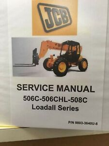 Jcb 506c 508c Loadall Service Manual