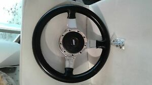 Lecarra Steering Wheel With Hub Adapter Trim Ring Screws