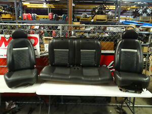 03 04 Ford Mustang Mach 1 Oem Seats Front Rear Seat Set 99 00 01 02 1