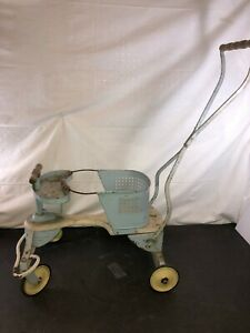 Vintage Taylor Tot Metal Baby Stroller Walker Good Shape