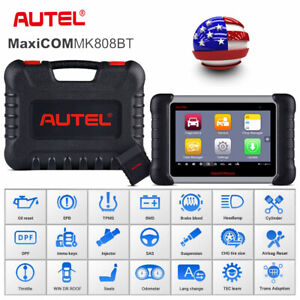 Autel Mk808bt Bluetooth Obd2 Scanner Automotive Car Diagnostic Tool All System
