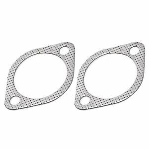 2 bolt 2 5 High Temperature Exhaust Gasket Turbo Downpipe 2 Pack