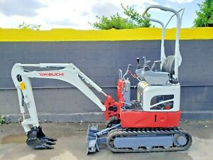 2017 Takeuchi Tb210r Mini Excavator Digger 2535 Lbs Only 223 Hrs work Ready
