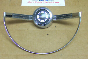 1966 Other Ford Fairlane Steering Wheel Horn Ring Contacts Emblem Oem C6oa