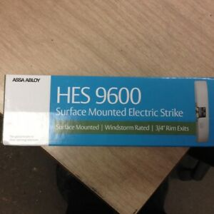 Hes 9600 Assa Abloy Electric Strike 9600