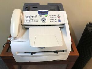 Brother Intellifax 2820 Laser Fax Machine Printer Copier Used