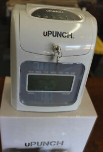 Calculating Upunch Time Clock Bundle W 197 Cards 3 Ribbons 2 Racks hn4000