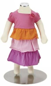 Store Fixture Supplies Flexible Baby Mannequin With Metal Base 18 5 Tall