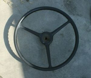 1929 30 31 1932 33 1934 35 1936 1937 Chevy Car Original Steering Wheel Rare H