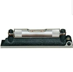 Starrett 98 4 Machinists Level With Ground And Graduated Vial 4 Length