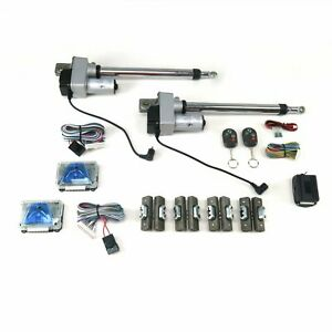 Automatic Gullwing Door Conversion Kit With Remote 2 Door Street Rod 1934