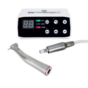 Nsk Style Dental Brushless Led Electric Micro Motor 1 5 Increasing Handpiece New