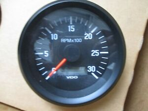 Vdo Cockpit International Tachometer Lcd Gauge 211 002 382 12v Dzm 3000rpm