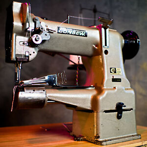 Consew 223r Cylinder Arm Needle Feed Rightangle Binder Industrial Sewing Machine