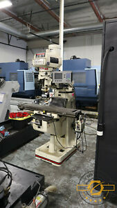 Jet Cnc Knee Mill New 2013