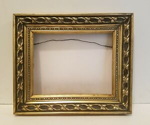 Picture Frame Wood Gold Family Photo Art Frame