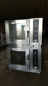 Lainox Piper Products Electric Double Stack Combi Convection Steam Oven Steamer
