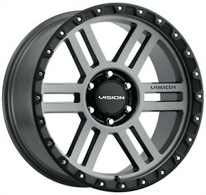 18 Ram 1500 Grey Black Wheels 5x139 7 5x5 5 18x9 12mm Set Of 4 Rims