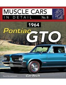 1964 Pontiac Gto Muscle Cars In Detail 8 Book History Design Options New