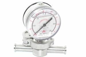 Anderson 0314183 Pressure Gauge Indicator 0 60 Psi Fluid Line Technology Fitting
