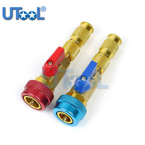 R134a A C Air Conditioning Valve Core Remover Installer High Low Coupler Tool