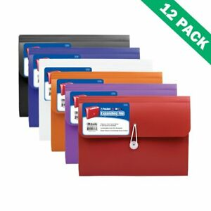 Expanding File Folders Durable Poly Expandable File Folder With Pockets