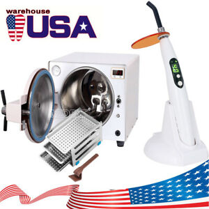 18l Dental Autoclave Steam Sterilizer Medical Sterilization Curing Light Sale