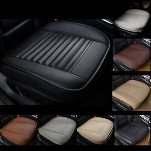 Universal Car Suv Pickup Auto Seat Cover Cushion Protector Pad Deluxe Pu Leather