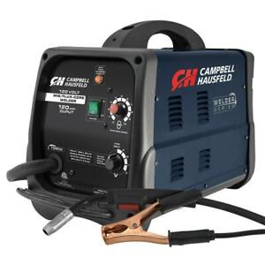 Mig flux Core Welder 120 Amp Output Wire Feed W Accessories Campbell Hausfeld