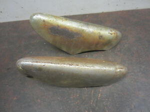 1949 1951 Ford Bumper Guards Moldings 1950