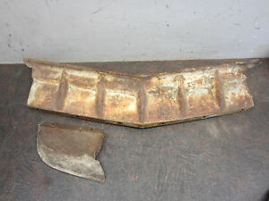 1951 Ford Center Grille Bar Sheet Center And Right Side Metal Panel Shoe Box