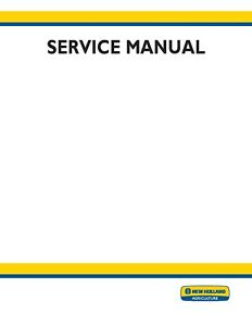 New Holland Tn60da tn60sa tn70da tn70sa tn75da tm75sa tn85da 95da Service Manual