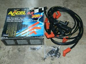 New Accel 7400 300 Ferro spiral Race Wire Cables Spark Plug Wire Set For C15