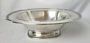 Large 12 Sterling Silver Centerpiece Bowl Over 2 Pounds