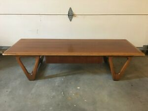 Vintage Mcm Warren Church For Lane Coffee Table Or Bench