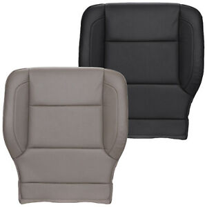 2015 2018 Chevy Gmc Tahoe Suburban Yukon Driver Perforated Leather Seat Cover