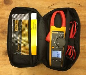 Fluke 374 True Rms Ac Dc Clamp Meter Multimeter With Soft Carrying Case
