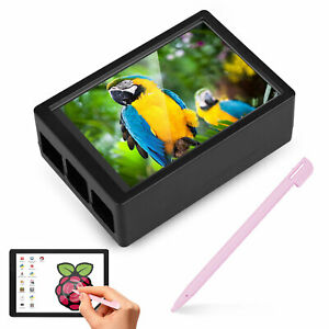 3 5 Inch Touch Screen Monitor Lcd Display 480x320 For Raspberry Pi 4 Case Pen