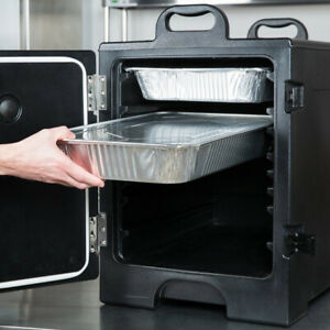 Insulated Catering Hot Cold Chafing Dish Food Pan Carrier Box Commercial Nsf