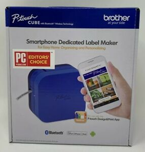 Brother P touch Cube Smartphone Label Maker Bluetooth Wireless Technology