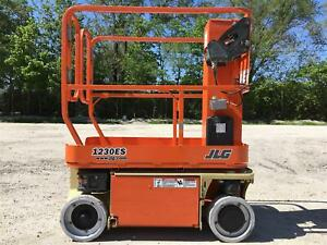 2009 Jlg 1230es Personnal Manlift Scissor Lift Vertical Awp Lift Indoor Jlg