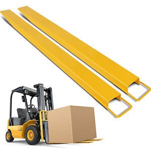84x5 Pallet Fork Extensions For Forklifts Easy Operation