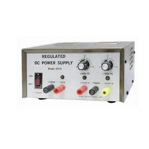 Triple Output Dc Power Supply One 5v 3a Max And Two 1 5v Dc To 15v 1a Max